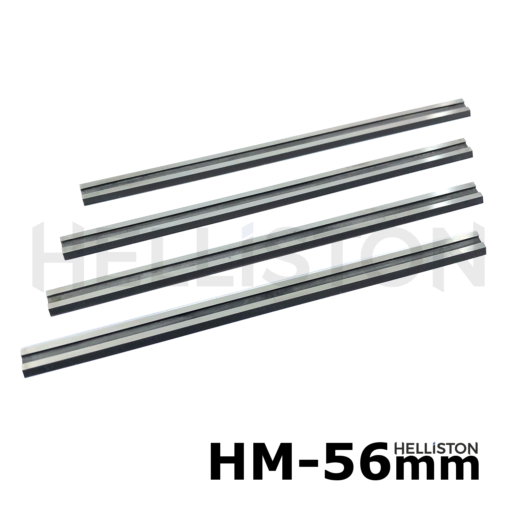 HM TCT Planer Blades, Reversible Knives 56 mm, hard metal (Tungsten Carbide), double-sided blades for electrical hand planersBosch GHO 12V-20, Adler BH 556, Hoffmann BH-556, Wegoma AP98 etc