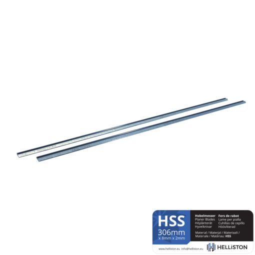 HSS Planer Blades 306 x 8 x 2 mm for Makita 2012, 201NB