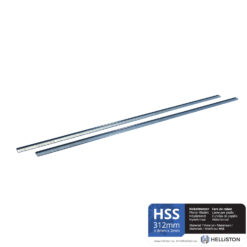 HSS Planer Blades, Reversible knives 312 x 8 x 2mm for Makita KP312, KP312S